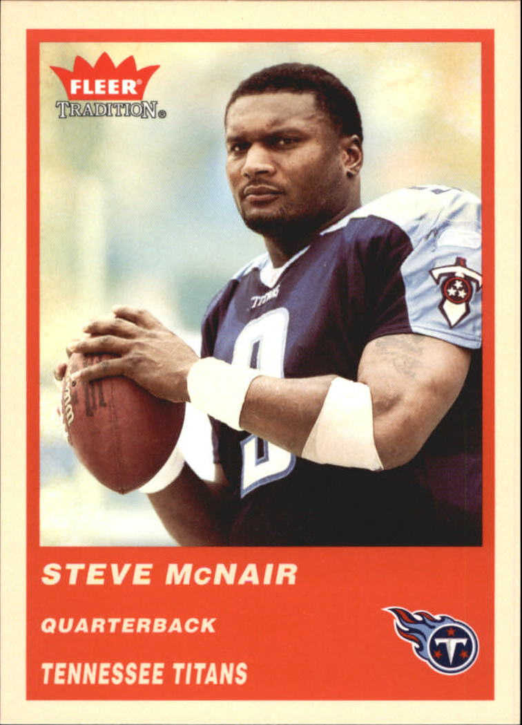 2004 Fleer Tradition #72 Steve McNair