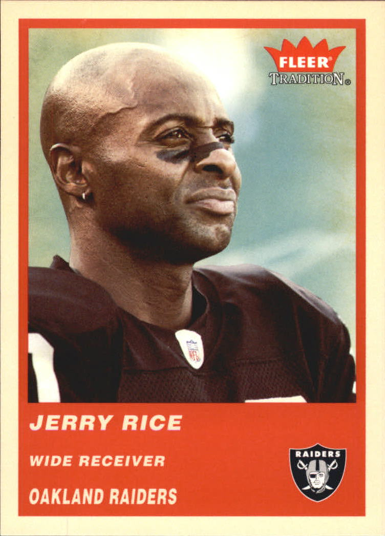 2004 Fleer Tradition #74 Jerry Rice