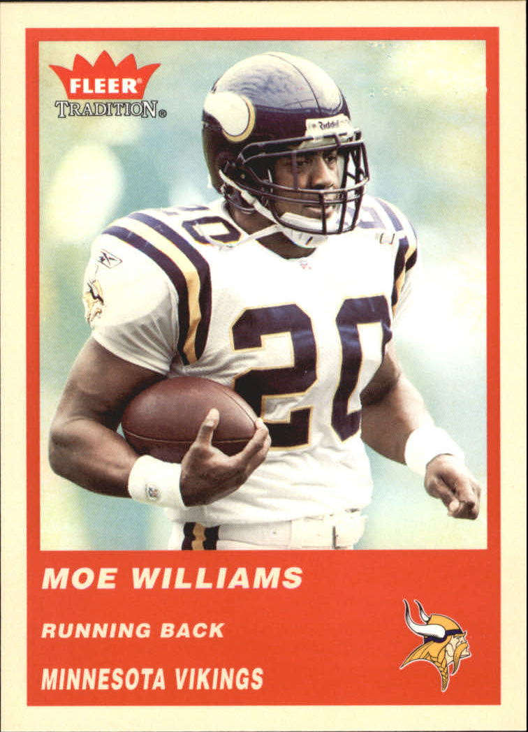 2004 Fleer Tradition #76 Moe Williams