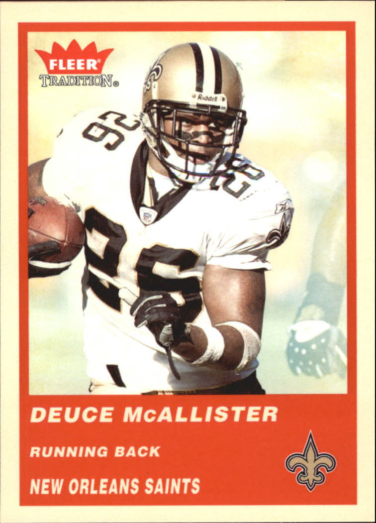 2004 Fleer Tradition #77 Deuce McAllister