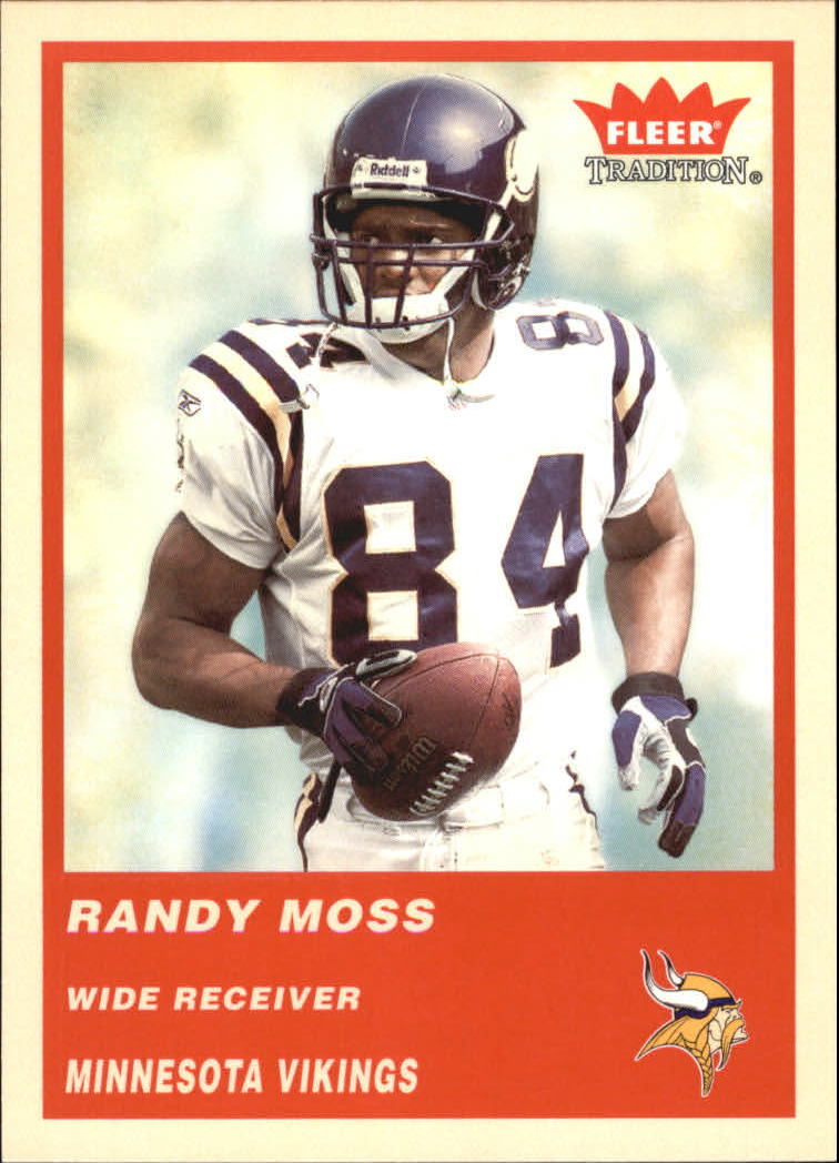 2004 Fleer Tradition #79 Randy Moss
