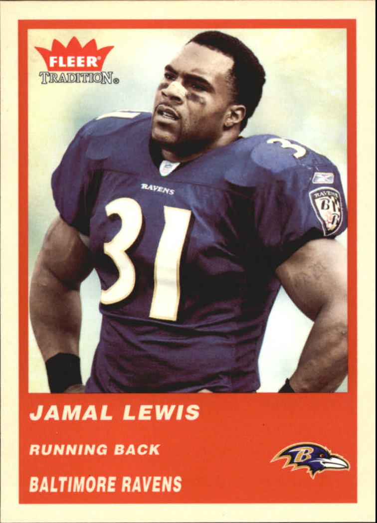 2004 Fleer Tradition #94 Jamal Lewis
