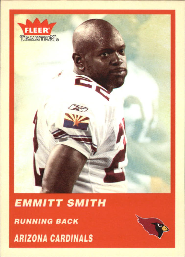 2004 Fleer Tradition #96 Emmitt Smith