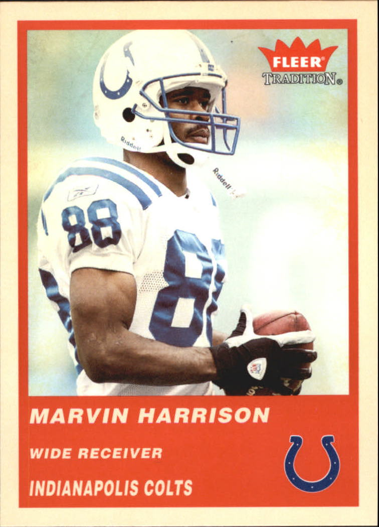 2004 Fleer Tradition #102 Marvin Harrison