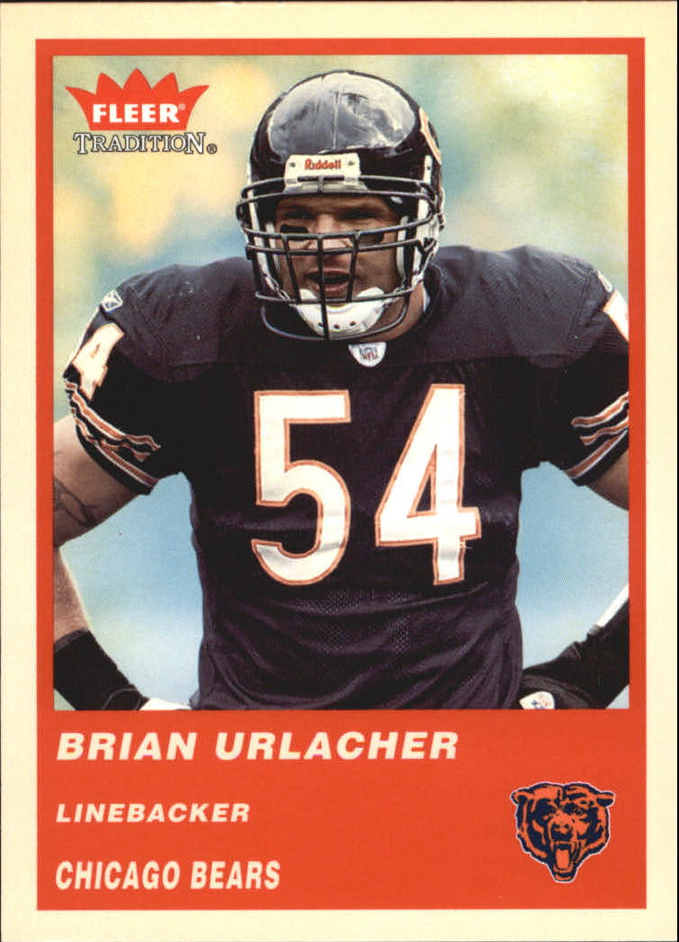 2004 Fleer Tradition #109 Brian Urlacher