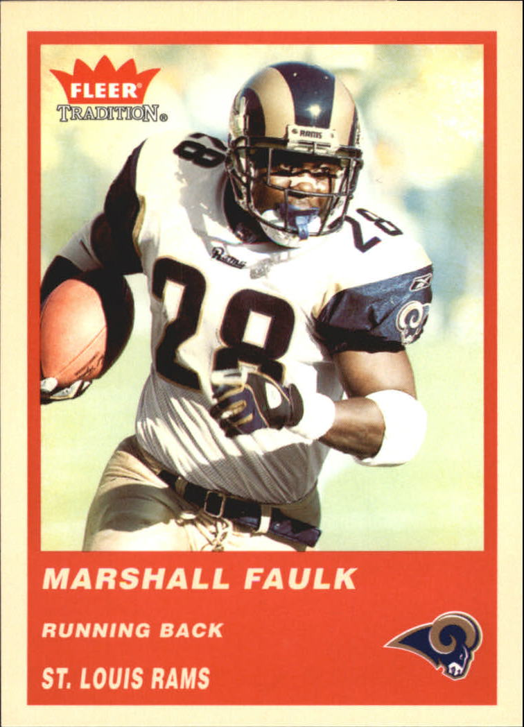 2004 Fleer Tradition #113 Marshall Faulk