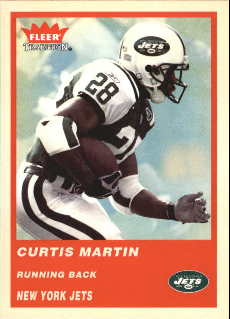 2004 Fleer Tradition #123 Curtis Martin