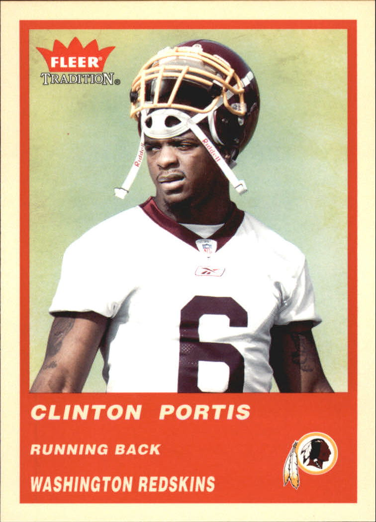 2004 Fleer Tradition #126 Clinton Portis