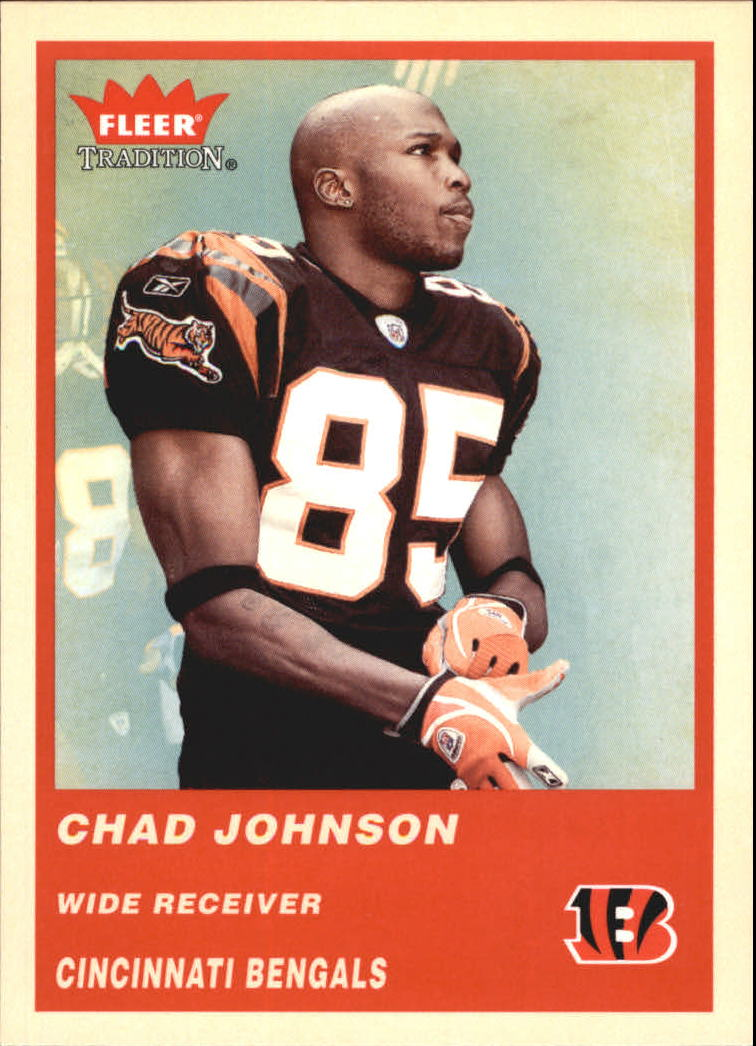 2004 Fleer Tradition #166 Chad Johnson