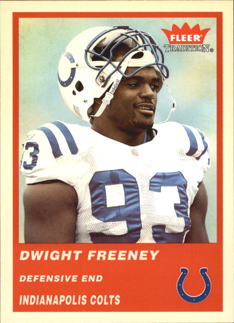 2004 Fleer Tradition #171 Dwight Freeney