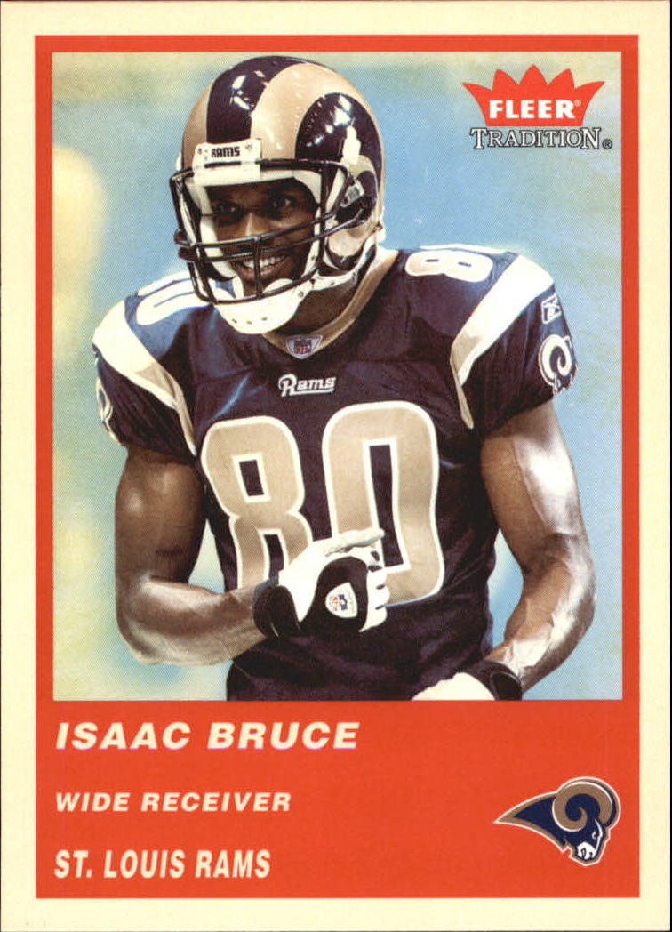 2004 Fleer Tradition #190 Isaac Bruce