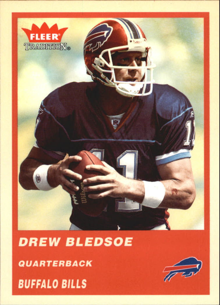 2004 Fleer Tradition #235 Drew Bledsoe