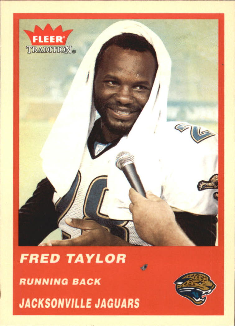 2004 Fleer Tradition #246 Fred Taylor