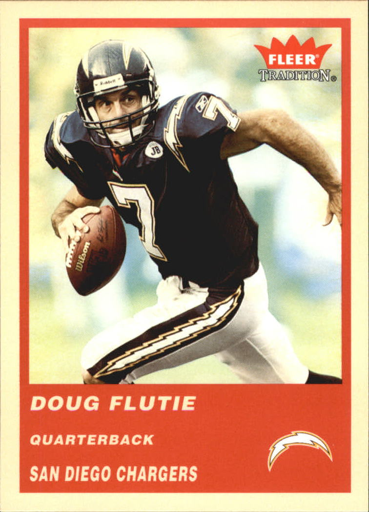 2004 Fleer Tradition #299 Doug Flutie