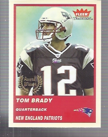 2004 Fleer Tradition #324 Tom Brady AW