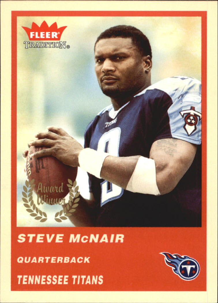 2004 Fleer Tradition #326 Steve McNair AW