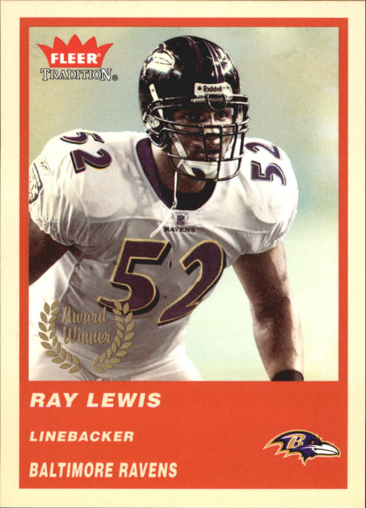 2004 Fleer Tradition #328 Ray Lewis AW