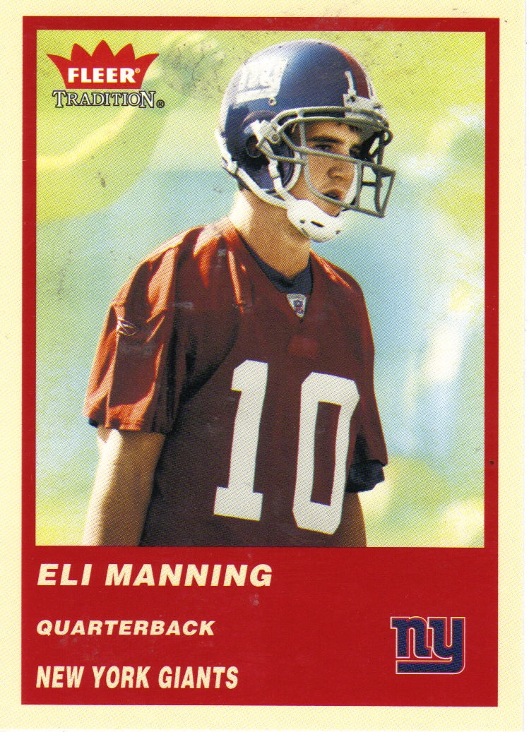 2004 Fleer Tradition #331 Eli Manning RC