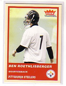 2004 Fleer Tradition #333 Ben Roethlisberger RC front image