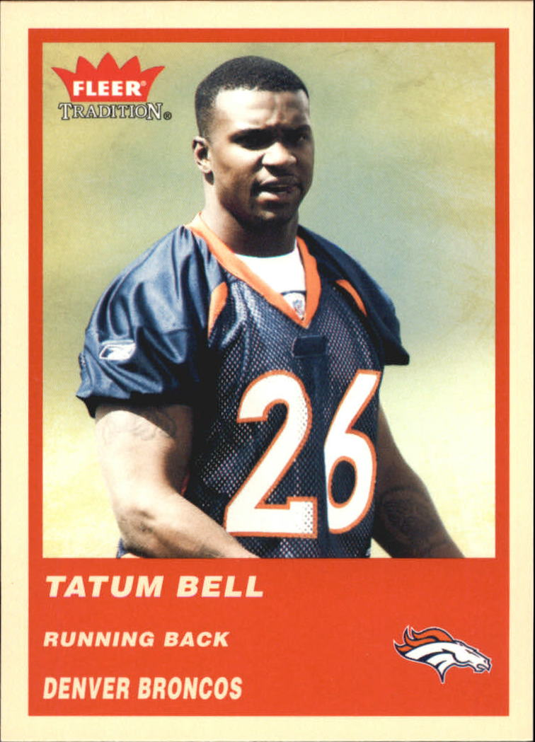 2004 Fleer Tradition #334 Tatum Bell RC