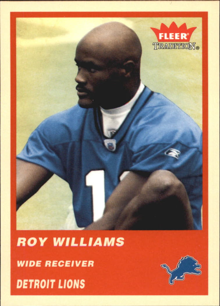 2004 Fleer Tradition #335 Roy Williams RC