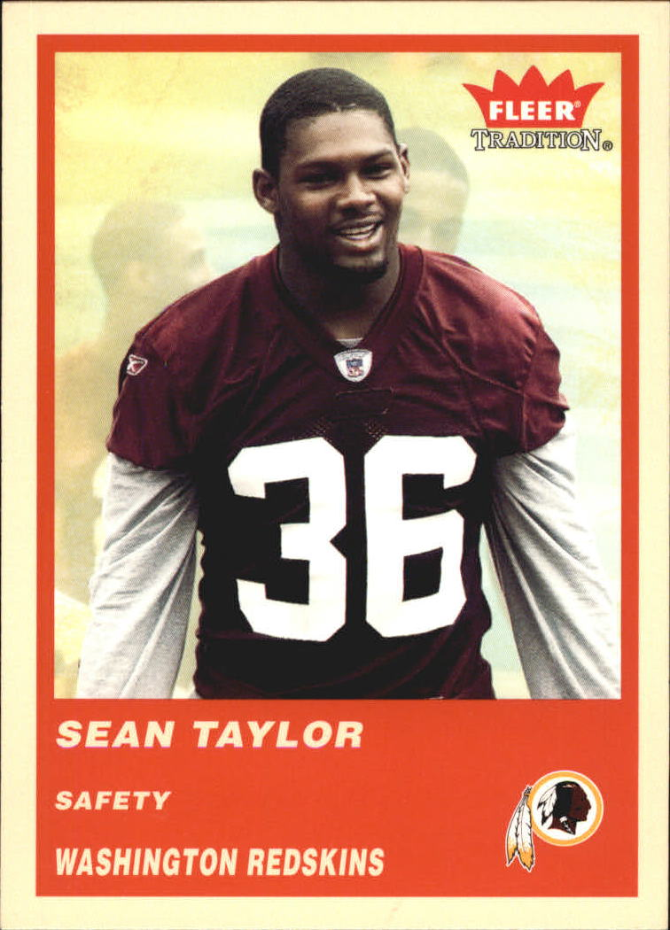 2004 Fleer Tradition #340 Sean Taylor RC