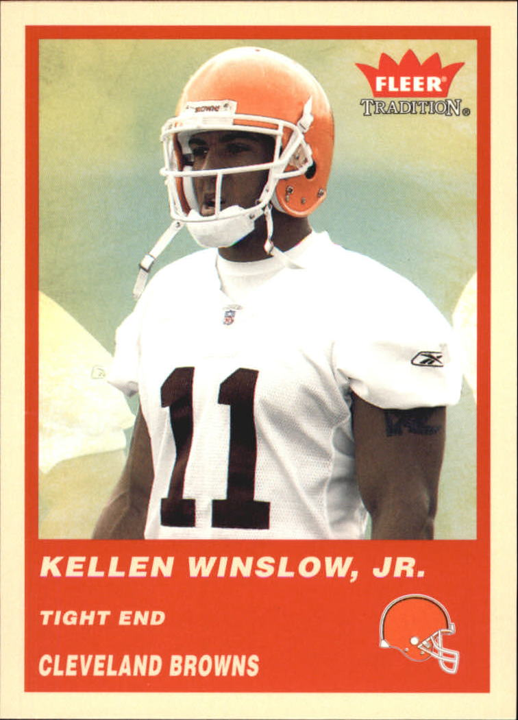 2004 Fleer Tradition #342 Kellen Winslow RC