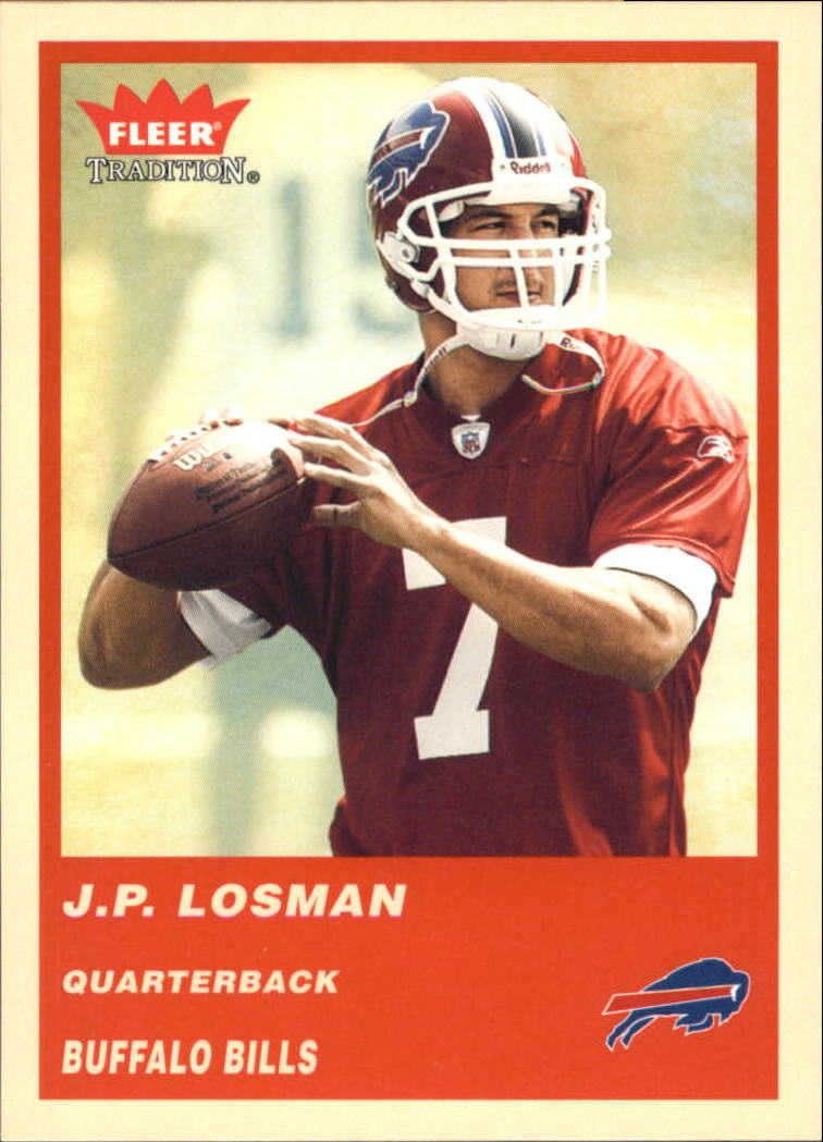 2004 Fleer Tradition #344 J.P. Losman RC