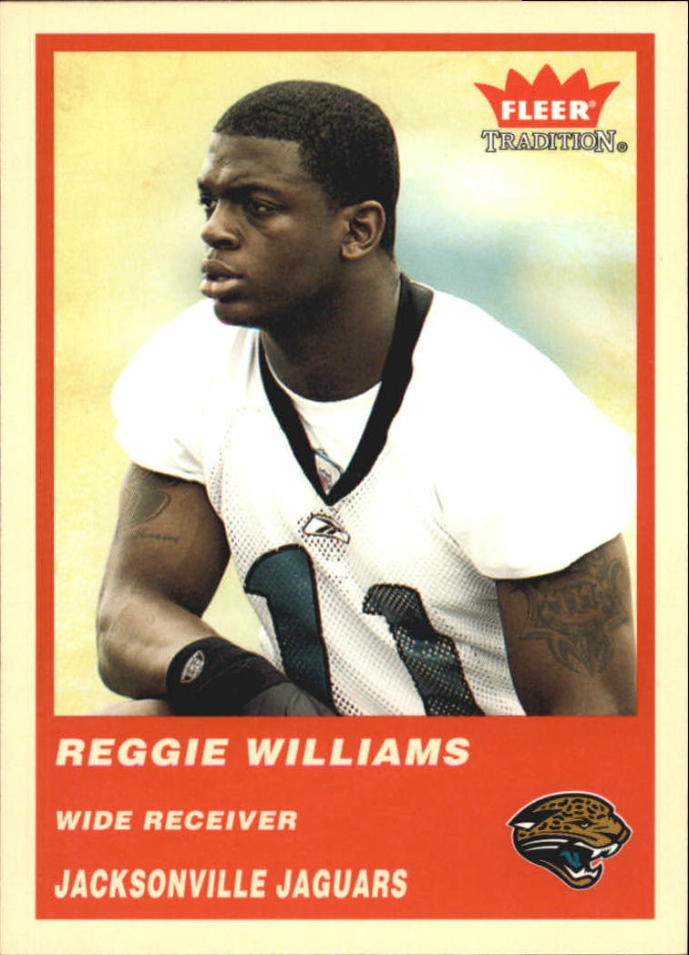 2004 Fleer Tradition #346 Reggie Williams RC