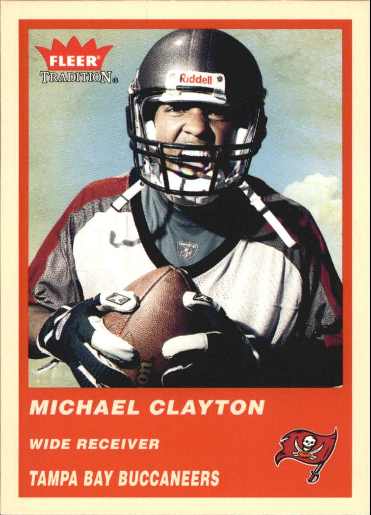 2004 Fleer Tradition #347 Michael Clayton RC