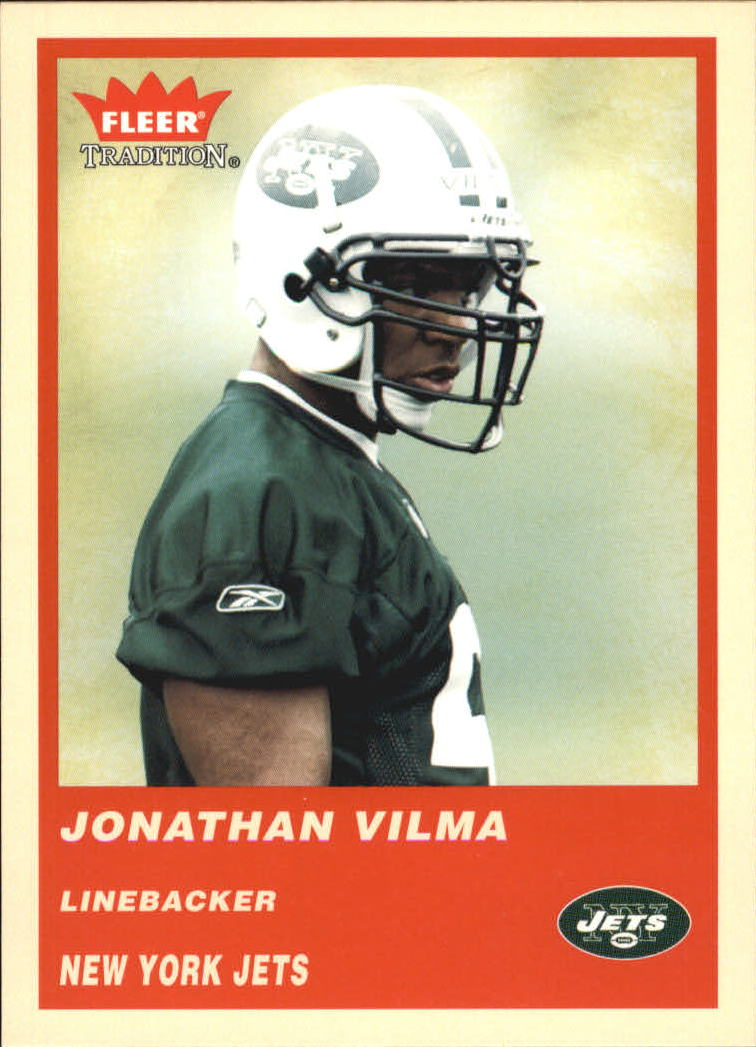 2004 Fleer Tradition #348 Jonathan Vilma RC