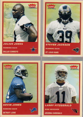 2004 Fleer Tradition #349 Julius Jones RC