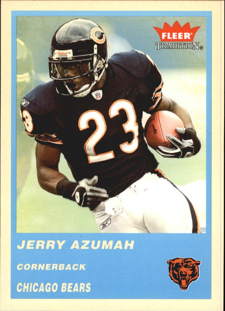 2004 Fleer Tradition Blue #280 Jerry Azumah front image