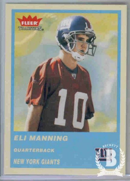 2004 Fleer Tradition Blue #331 Eli Manning
