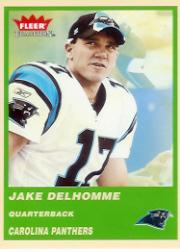 2004 Fleer Tradition Green #37 Jake Delhomme