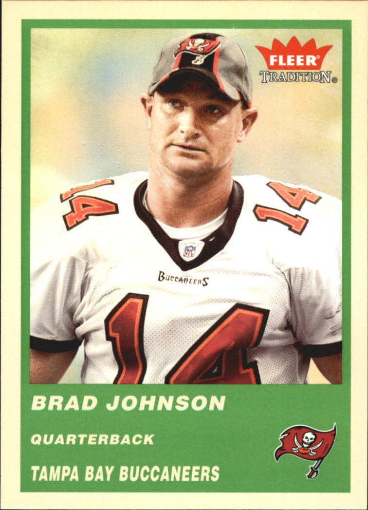 2004 Fleer Tradition Green #62 Brad Johnson