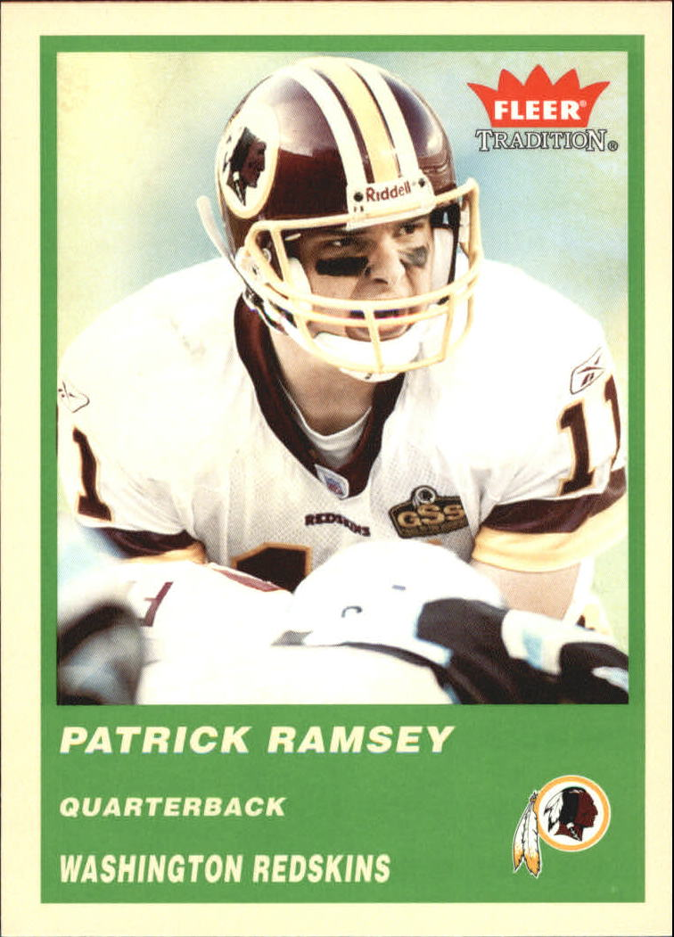 2004 Fleer Tradition Green #155 Patrick Ramsey
