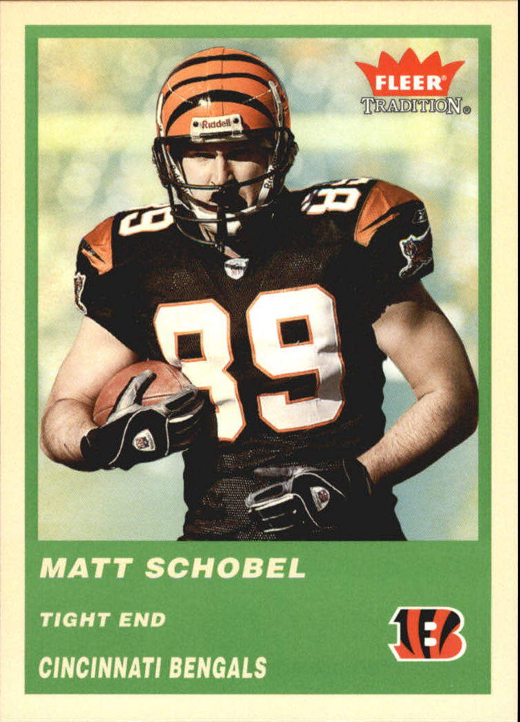 2004 Fleer Tradition Green #238 Matt Schobel