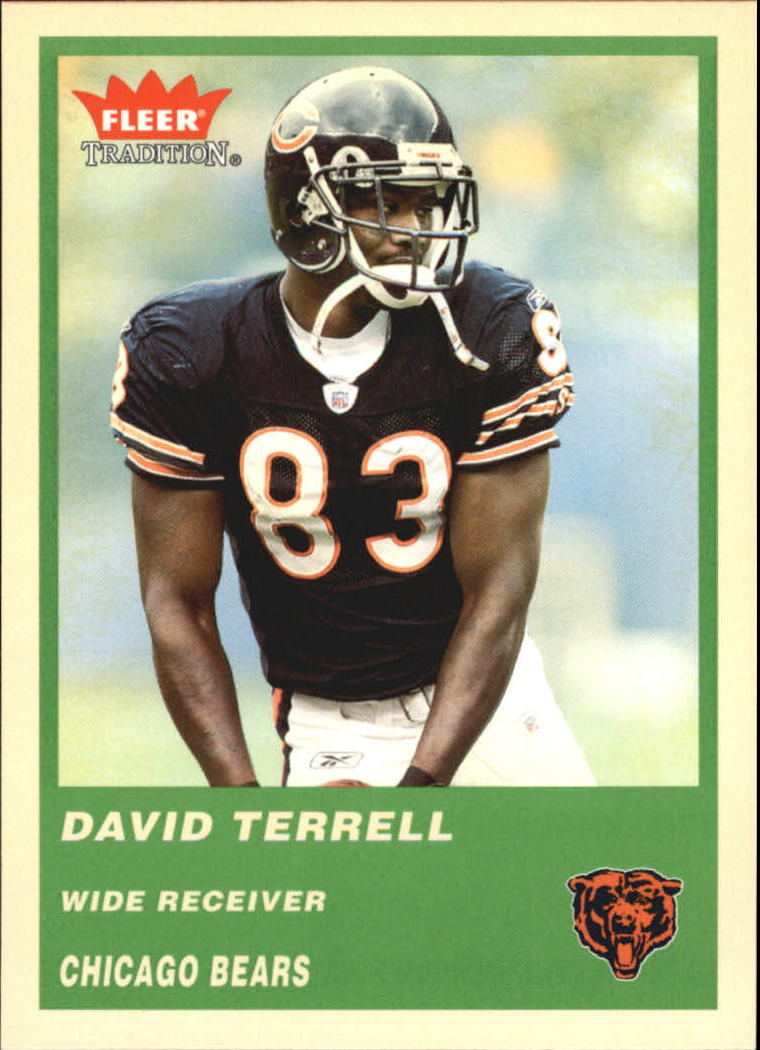 2004 Fleer Tradition Green #311 David Terrell