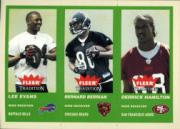 2004 Fleer Tradition Green #353 Lee Evans/Bernard Berrian/Derrick Hamilton front image
