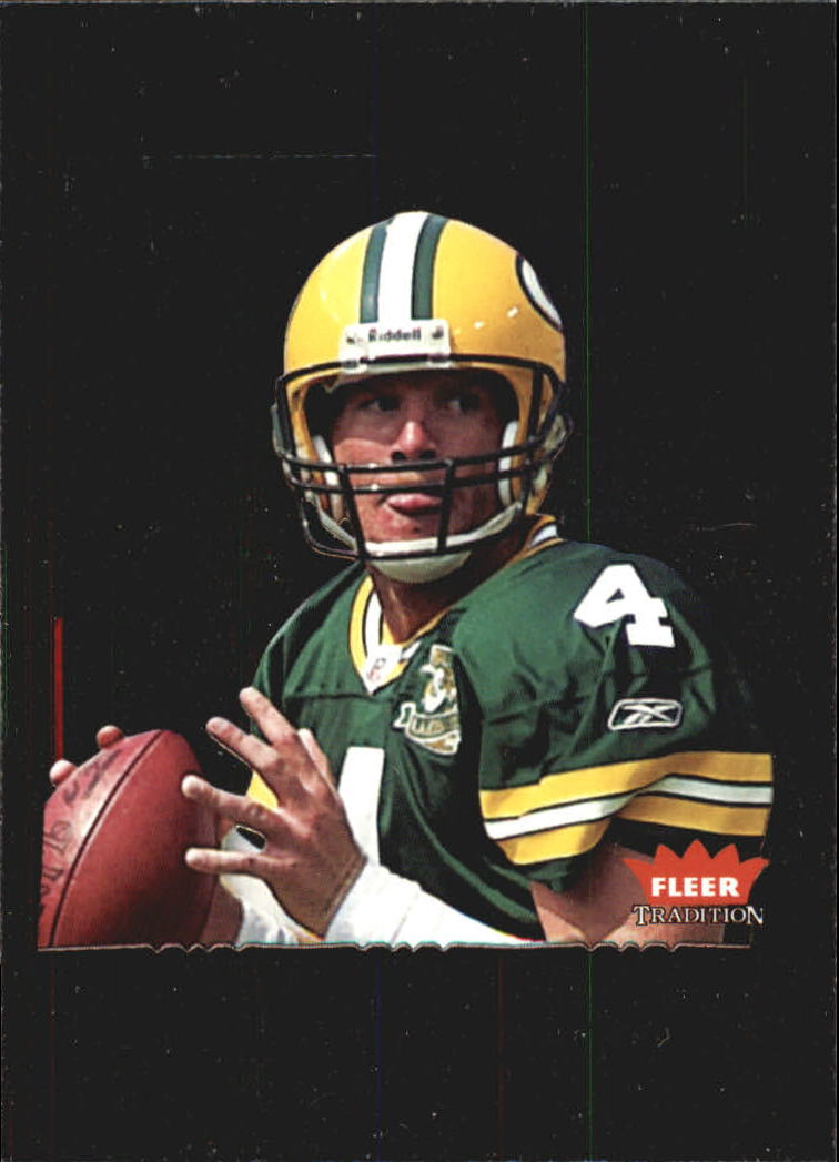 2004 Fleer Tradition Gridiron Tributes #6GT Brett Favre