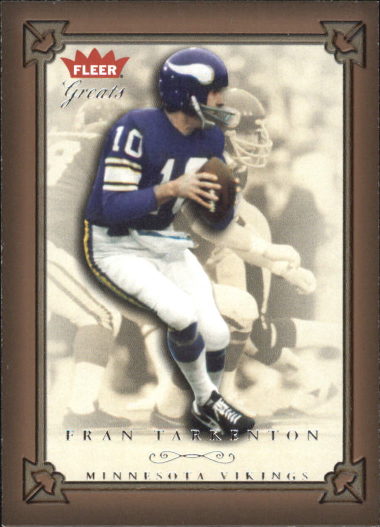 2004 Greats of the Game #4 Fran Tarkenton