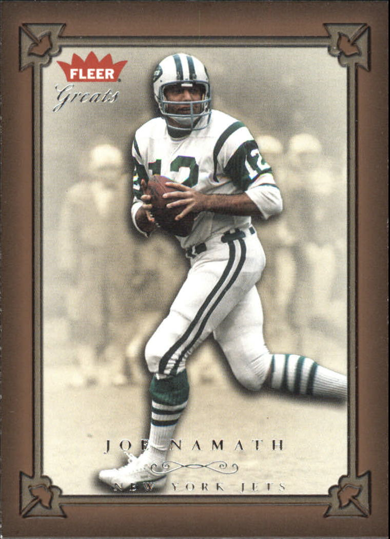 2004 Greats of the Game #5 Joe Namath