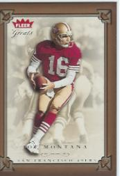 2004 Greats of the Game #6 Joe Montana