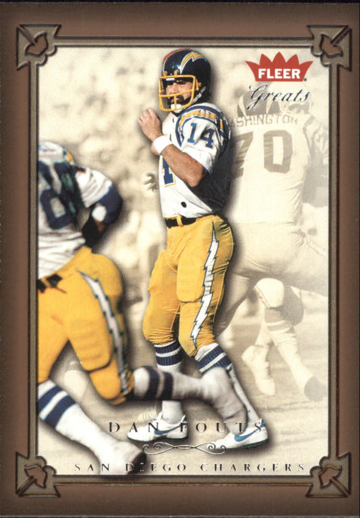 2004 Greats of the Game #11 Dan Fouts