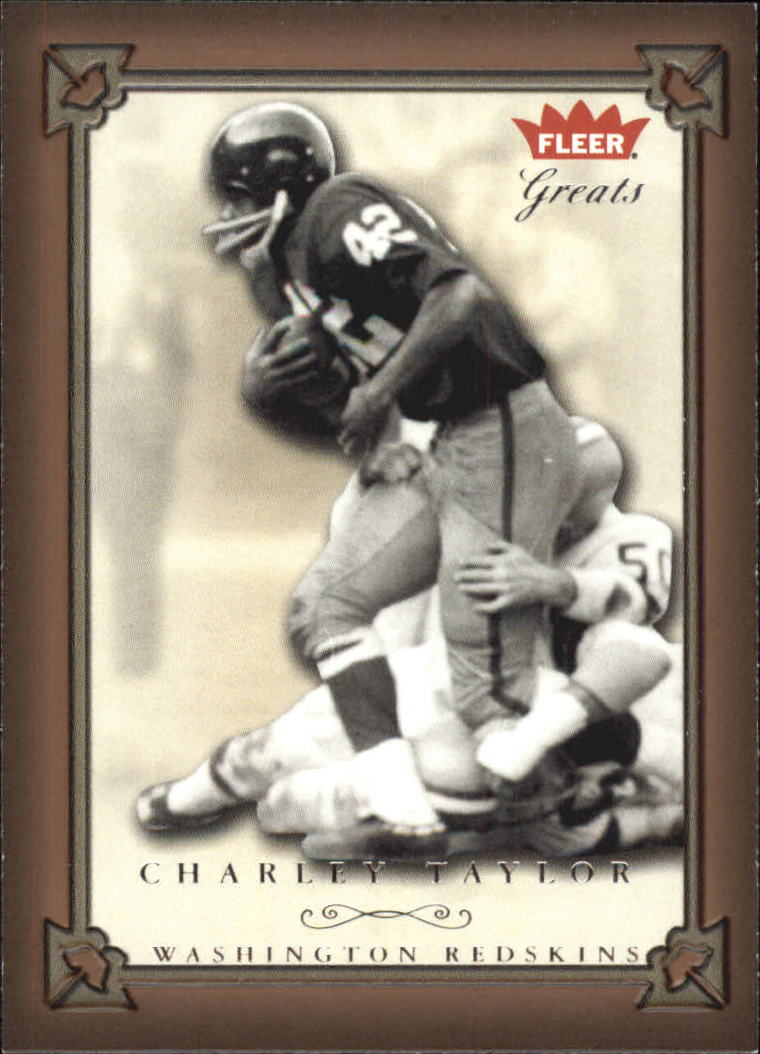 2004 Greats of the Game #57 Charley Taylor