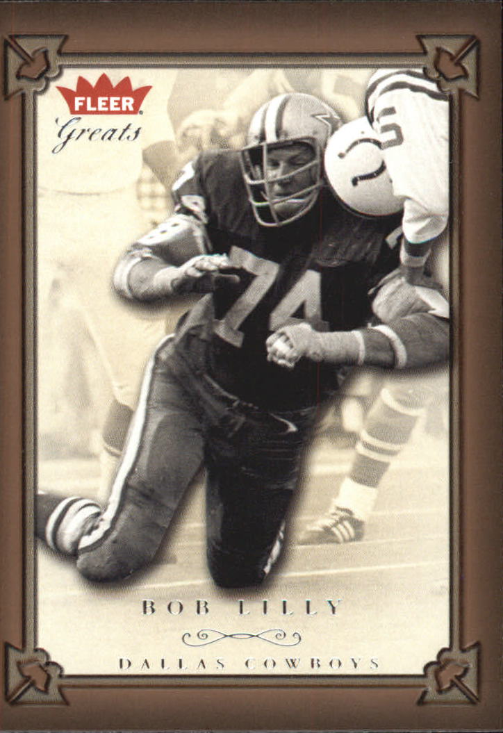2004 Greats of the Game #59 Bob Lilly front image