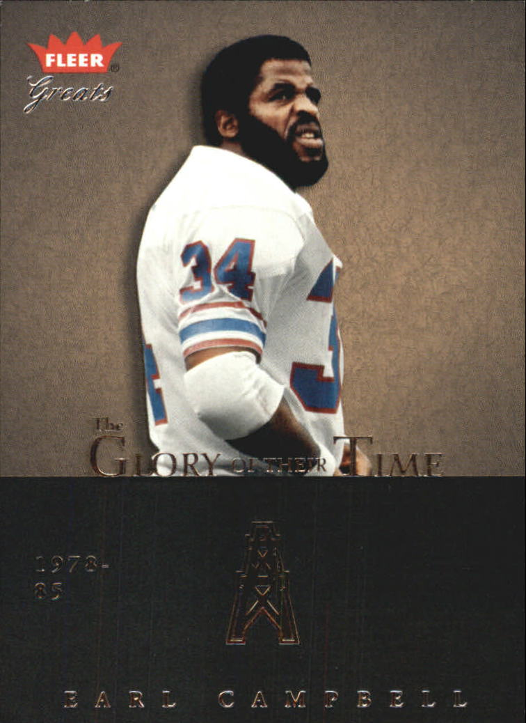 2004 Greats of the Game Glory of Their Time #GOT17 Earl Campbell/1980