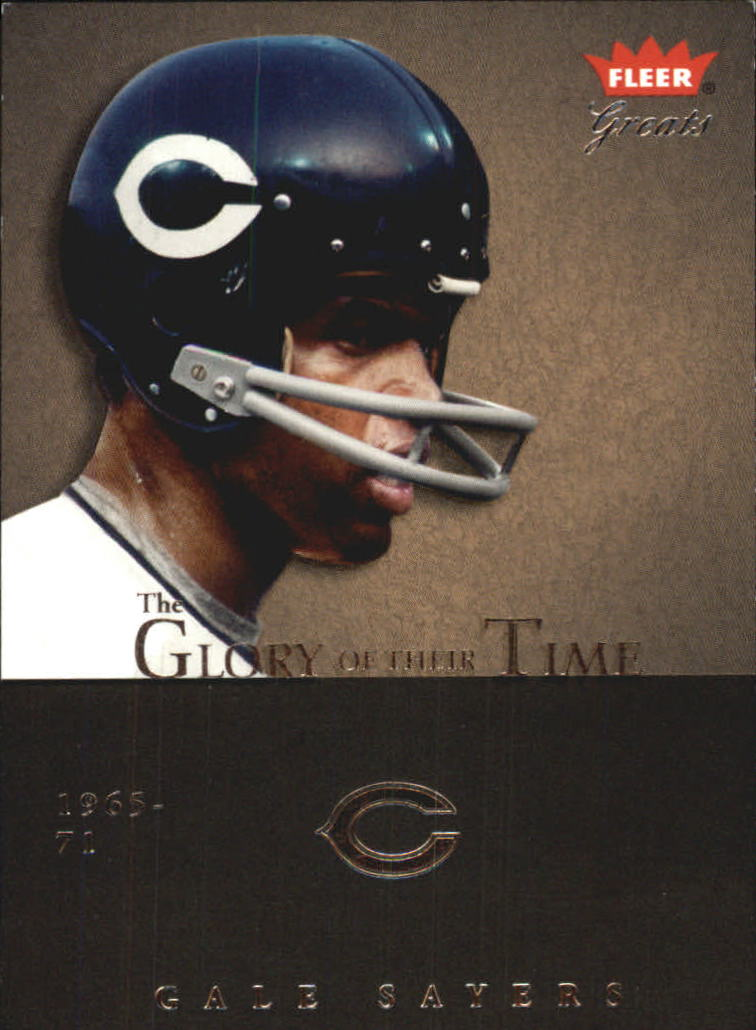2004 Greats of the Game Glory of Their Time #GOT18 Gale Sayers/1965