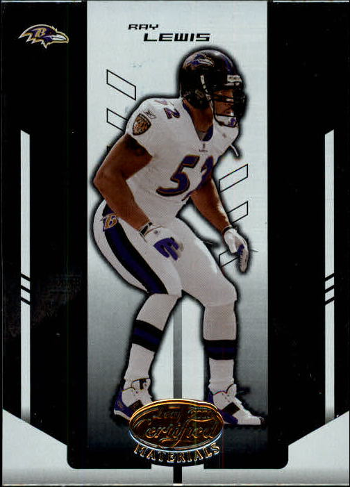 2004 Leaf Certified Materials #11 Ray Lewis